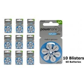Varta - PowerOne 675 IMPLANT Plus Hearing Aid Battery - Hearing batteries - NK396-CB