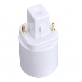 NedRo - G24 naar E27 Fitting Omvormer Converter - Lamp Fittings - AL088 www.NedRo.nl