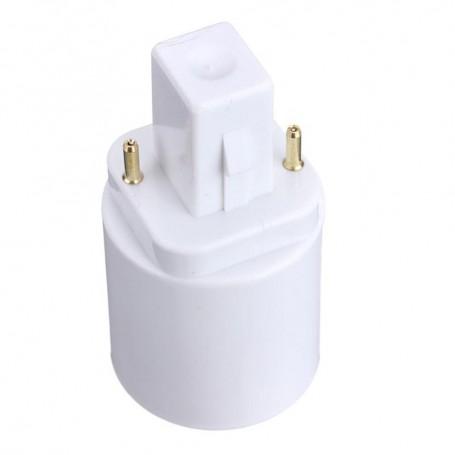 NedRo - G24 naar E27 Fitting Omvormer Converter - Lamp Fittings - LCA86-CB www.NedRo.nl