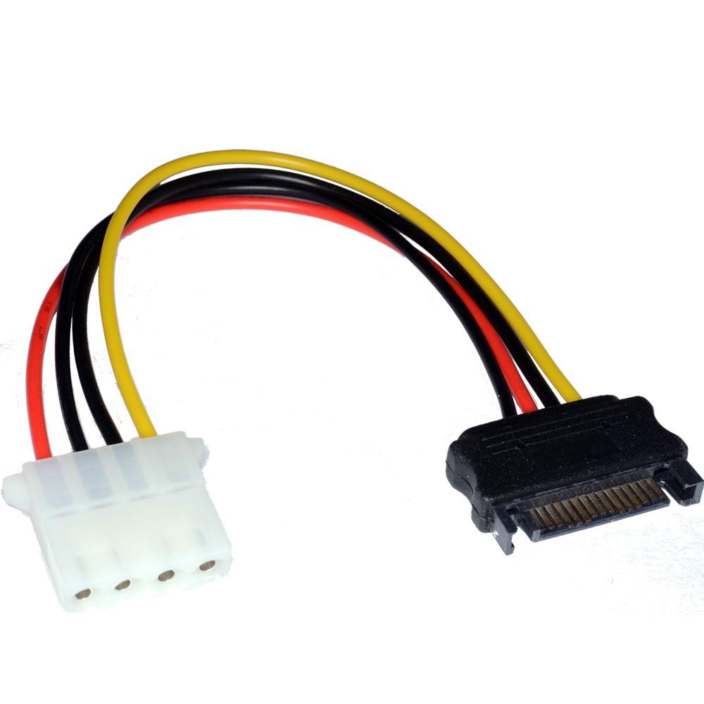 NedRo - Molex Female zu SATA Male kabel - Molex and Sata Cables - AL592 www.NedRo.de