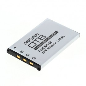 OTB, Batterij voor Casio NP-20 Li-Ion ON1396, Casio foto-video batterijen, ON1396, EtronixCenter.com