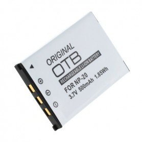 OTB - Battery for Casio NP-20 Li-Ion ON1396 - Casio photo-video batteries - ON1396-C www.NedRo.us