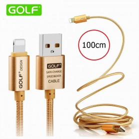 GOLF, Cablu pentru iPhone 6 Plus 5 5S iPad 4 Air 2, iPhone cabluri de date , AL615-CB, EtronixCenter.com