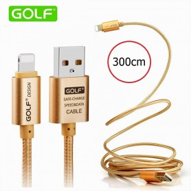 GOLF - Cable for iPhone 6 Plus 5 5S iPad 4 Air 2 - iPhone data cables - AL615 www.NedRo.us