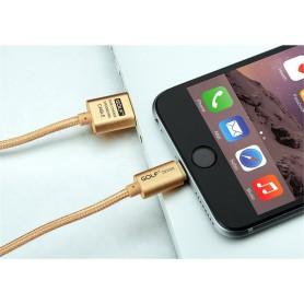 GOLF - Kabel voor iPhone 6 Plus 5 5S iPad 4 Air 2 - iPhone datakabels - AL610 www.NedRo.nl
