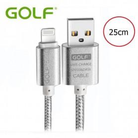 GOLF - Kabel voor iPhone 6 Plus 5 5S iPad 4 Air 2 - iPhone datakabels - AL615 www.NedRo.nl