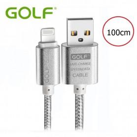 GOLF - Kabel voor iPhone 6 Plus 5 5S iPad 4 Air 2 - iPhone datakabels - AL617 www.NedRo.nl