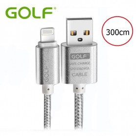 GOLF, Kabel voor iPhone 6 Plus 5 5S iPad 4 Air 2, iPhone datakabels, AL615-CB, EtronixCenter.com