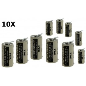 FDK - FDK Battery CR17335SE-T1 Lithium 3V 1800mAh - With Soldering Tag - Other formats - ON1340-CB