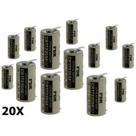 OTB - FDK Batterij CR17335SE-T1 Lithium 3,0V 1800mAh bulk - Andere formaten - ON1340-20x www.NedRo.nl