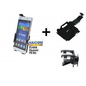 Haicom - Auto Ventilator Haicom klem houder voor HUAWEI P8 LITE HI-444 - Auto ventilator telefoonhouder - ON4608-SET www.NedR...
