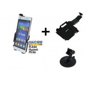 Haicom - Haicom dashboard phone holder for HUAWEI P8 LITE HI-444 - Car dashboard phone holder - ON4609-SET