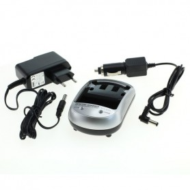 Dolphix - AC and Car charger set for all types of loading plates EU-Plug - Other photo-video chargers - 49459