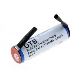 NedRo - OTB-batterij compatibel met Braun Oral B Sonic compleet / Rowenta Dentasonic NiMH - Elektronika - ON4626-C www.NedRo.nl