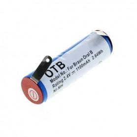 NedRo, Baterie OTB compatibilă cu Braun Oral B Sonic complet / Rowenta Dentasonic NiMH, Baterii pentru electronice, ON4626, E...