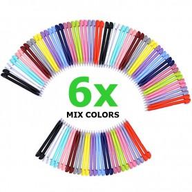 NedRo, 6 x Stylus Pen voor Nintendo DS Lite - Gemengde kleuren, Nintendo DS Lite, AL575, EtronixCenter.com