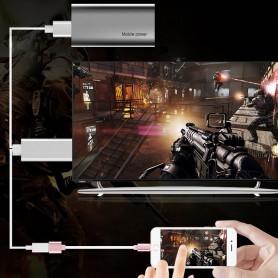 NedRo, MHL to HDMI Samsung S6 S6 Edge Note 5 Huawei P8 P9, Samsung data cables , AL574-CB