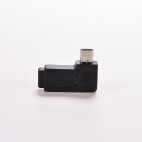 NedRo, Mini USB Male naar Mini USB Female Haakse Adapter, USB adapters, AL571, EtronixCenter.com