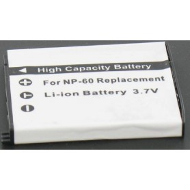 Battery compatible with Casio NP-60