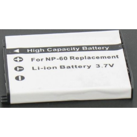NedRo, Accu Batterij compatible met Casio NP-60, Casio foto-video batterijen, V189, EtronixCenter.com
