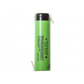 Panasonic - Baterie Panasonic 3350mAh NCR18650B 3.7V 6.7A - Format 18650 - NK090-CB www.NedRo.ro