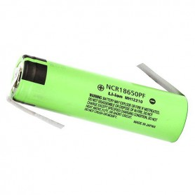Panasonic, Panasonic battery NCR18650PF 10A 18650 2900mAh, Size 18650, NK079-CB
