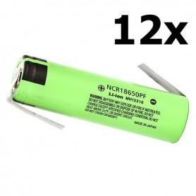 Panasonic - Panasonic battery NCR18650PF 10A 18650 2900mAh - Size 18650 - NK256-12x www.NedRo.us