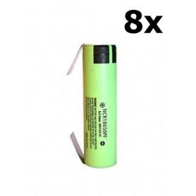 Panasonic - Panasonic battery NCR18650PF 10A 18650 2900mAh - Size 18650 - NK255-8x www.NedRo.us