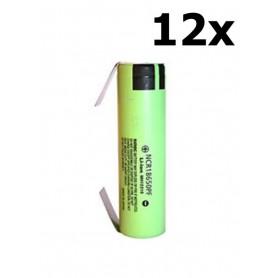 Panasonic - Panasonic battery NCR18650PF 10A 18650 2900mAh - Size 18650 - NK255-12x www.NedRo.us