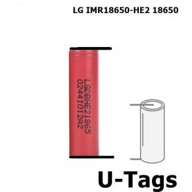 LG - LG IMR18650-HE2 18650 Oplaadbaar - 18650 formaat - NK259 www.NedRo.nl