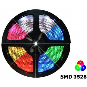 NedRo - RGB IP20 LED Strip SMD3528 60led p/m - LED Strips - AL563-3M www.NedRo.us
