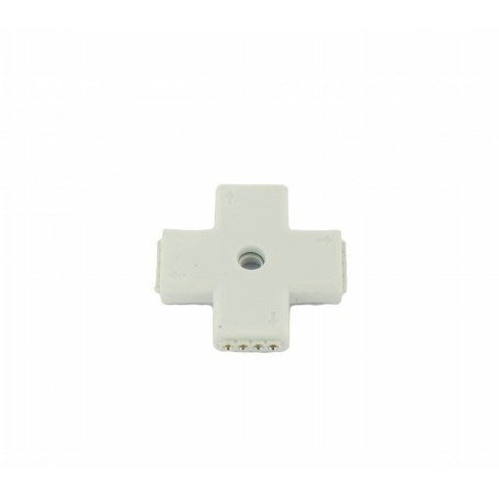 NedRo - RGB Splitter 4 Hoeken Connector - LED connectors - LED06028 www.NedRo.nl