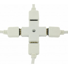 NedRo, 4 pins RGB connector, Conectori LED, LED06028, EtronixCenter.com