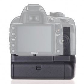 Travor - Battery Grip compatible Nikon D3400 DSLR - Nikon photo-video batteries - AL559 www.NedRo.us