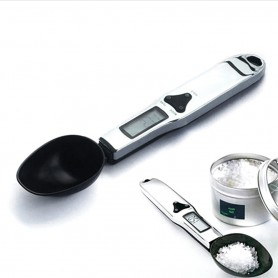 NedRo - Kitchen LAB Spoon Digital LCD Scale 0.1-300g - Digital scales - AL546 www.NedRo.us