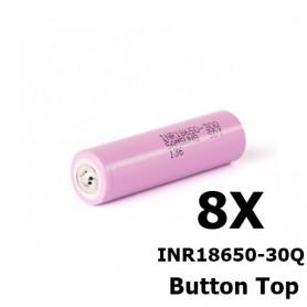 Samsung - Samsung INR18650-30Q 3000mAh - 15A - 18650 formaat - NK270-8X www.NedRo.nl