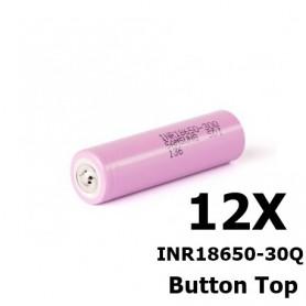 Samsung - Samsung INR18650-30Q 3000mAh - 15A - 18650 formaat - NK270-12X www.NedRo.nl
