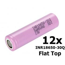 Samsung - Samsung INR18650-30Q 3000mAh - 15A - 18650 formaat - NK301-12X www.NedRo.nl