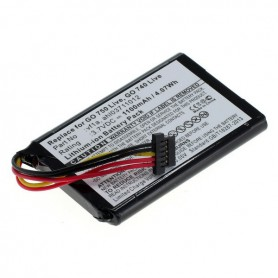 OTB, Battery for TomTom Go 740 Live / 750 Live 1100mAh, Navigation batteries, ON1841, EtronixCenter.com