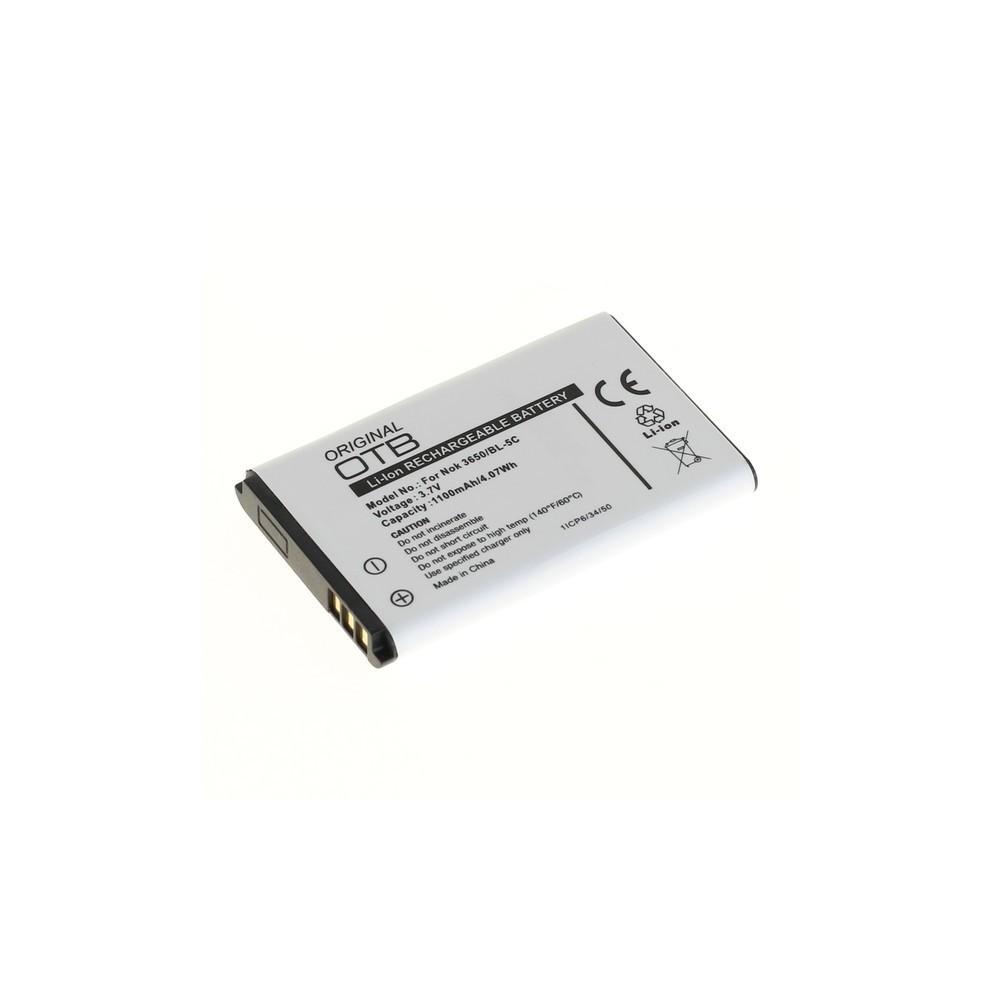 NedRo - Battery for Nokia BL-5C / BL-5CA Li-Ion ON185 - Nokia phone batteries - ON185-C www.NedRo.de