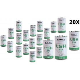 SAFT - SAFT LSH 20 D-formaat Lithium batterij 3.6V 13000mAh - C D 4.5V XL formaat - NK103-CB www.NedRo.nl
