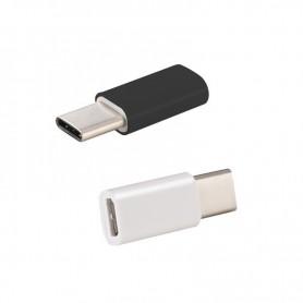 OTB - Adapter Micro-USB 2.0 Female to USB Type C (USB-C) M - USB adapters - ON3109-C www.NedRo.us