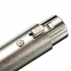NedRo, 3 Pin XLR Jack Female Microfoon 18AWG Adapter, Audio adapters, AL889, EtronixCenter.com
