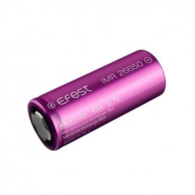 Efest - Efest IMR26650 5000mAh 45A Unprotected - Size C D and XL - NK139 www.NedRo.us