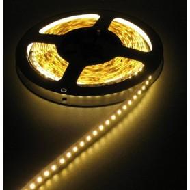 NedRo - Warm Wit 12V LED Strip 60LED/M IP20 SMD3528 - LED Strips - AL493 www.NedRo.nl