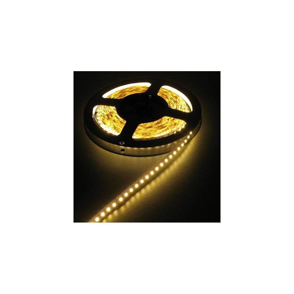 NedRo - 12V LED Strip 60LED/M IP20 SMD3528 Alb Cald - Benzi cu LED-uri - AL493 www.NedRo.ro