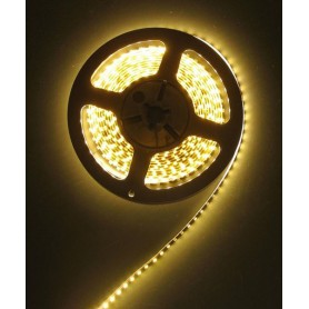 NedRo - Warm White 12V Led Strip 60LED/M IP20 SMD3528 - LED Strips - AL493 www.NedRo.us