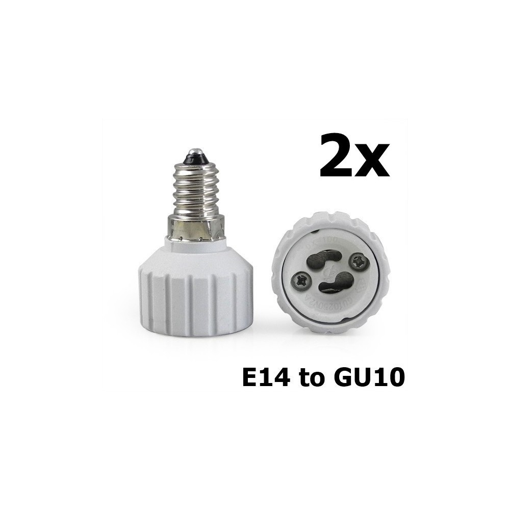 NedRo - E14 to GU10 Socket Converter - Corpuri de iluminat - AL492 www.NedRo.ro