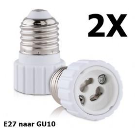 NedRo - E27 naar GU10 converter - Lamp Fittings - AL792 www.NedRo.nl