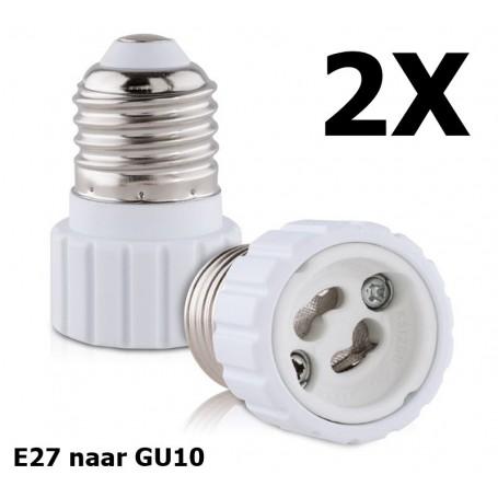 NedRo - E27 naar GU10 converter - Lamp Fittings - AL792-CB www.NedRo.nl